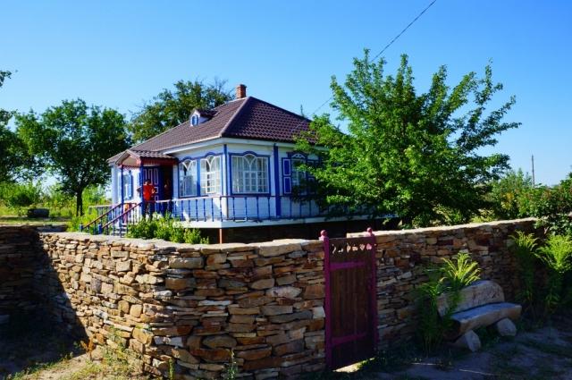 восстановленная усадьба жителя хутора Хоботок вахмистра Семёна Пискунова.