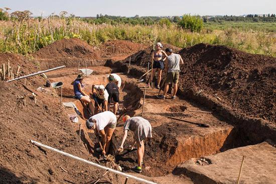 Археологи Камской археологической экспедиции ПГНИУ