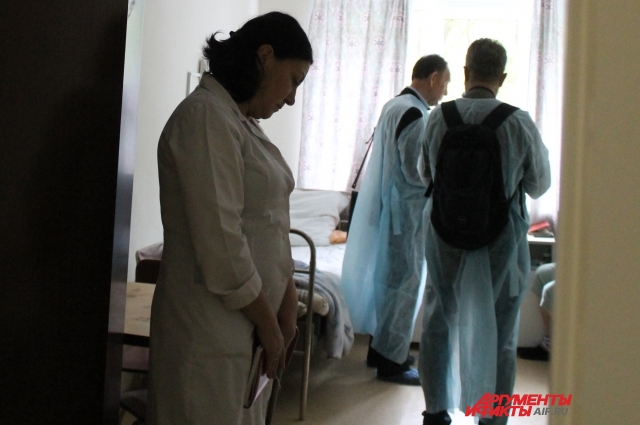 Опрошенные пациенты сказали, что довольны условиями проживания и лечением
