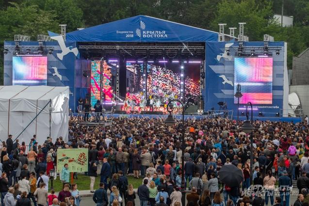 Главный выпускной края собрал тысячи зрителей.