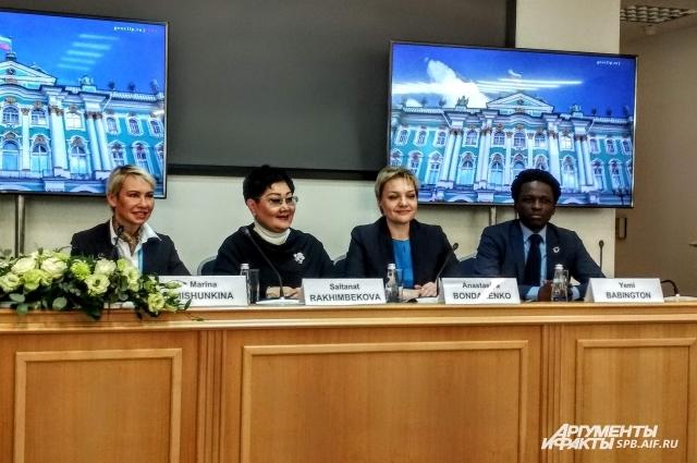 Марина Мишункина рассказала об экологичности информации.