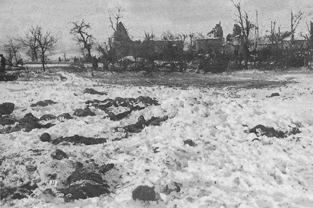 «Мальмедская резня», 1945 год.