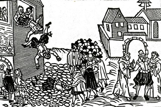 Дефенестрация габсбургских наместников в Пражском Граде, 23 мая 1618 года