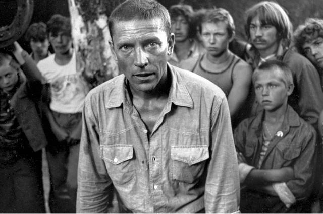 Валерий Приемыхов в фильме «Пацаны» (режиссер Динара Асанова). 1983 г.