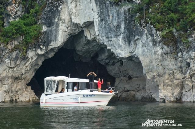 Красноярские пещеры впечатляют!