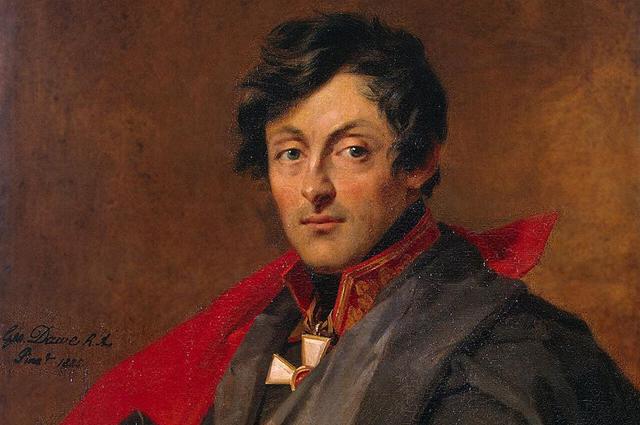 Доу, Джордж. Портрет Александра Ивановича Остермана-Толстого (1825 г.).
