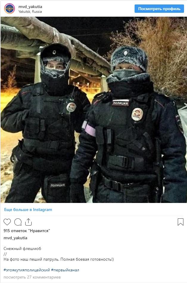 Запущенный сотрудниками #снежныйфлешмоб