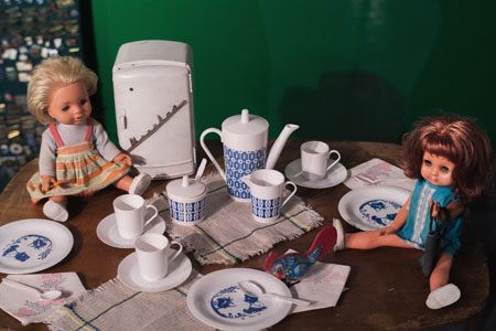 Фото с выставки Советское детство