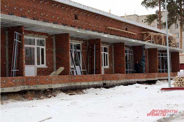 Хоспис для людей, достигших совершеннолетия, начали строить в августе 2014 года