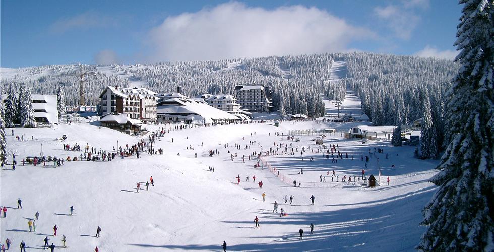 Сербия зимой