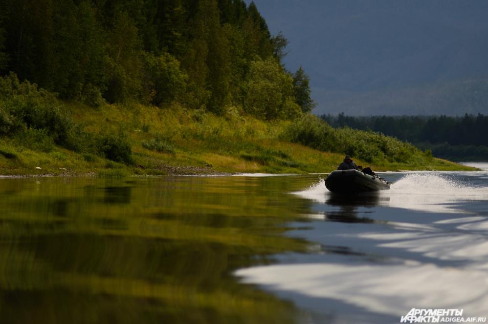 Фото из экспедиции «Разбушлата» по реке Юдоме.
