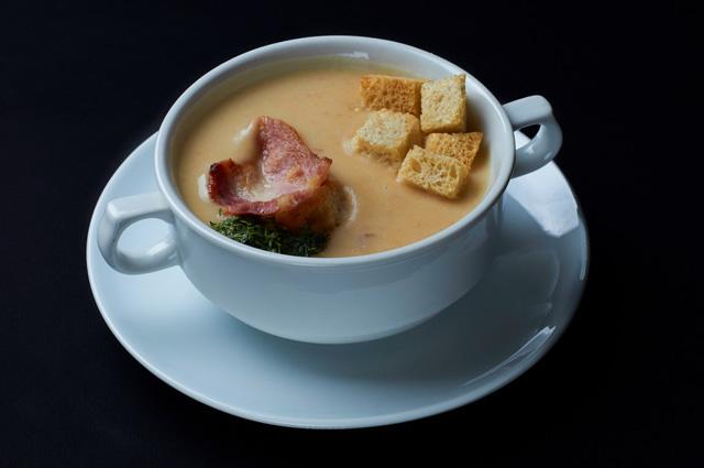 Суп с тыквой по-французски