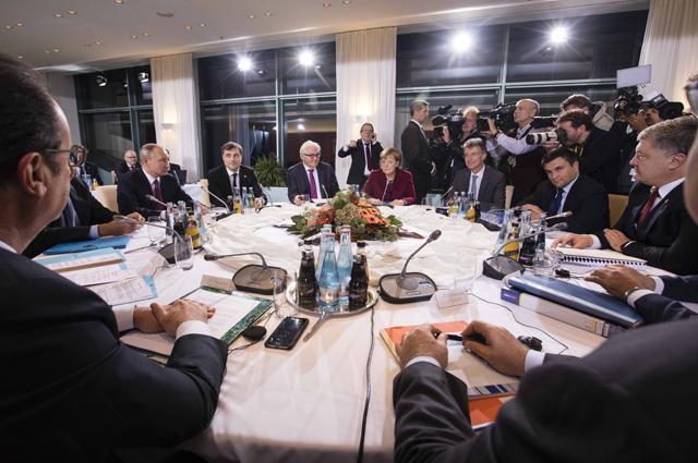 Встреча в Берлине. 19 октября 2016 г.