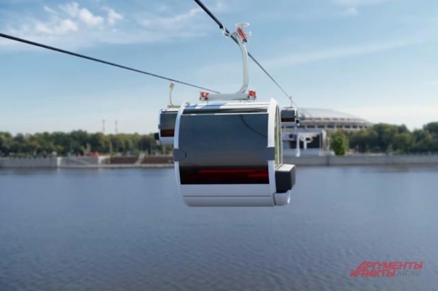 Парить в кабинках над Москвой смогут 1600 человек в час.
