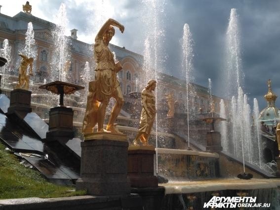 К разработке системы водоснабжения фонтанов Петергофа приложил руку сам Петр Великий.