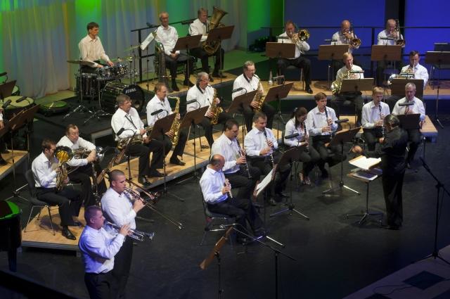 25 лет исполняется духовому оркестру филармонии.