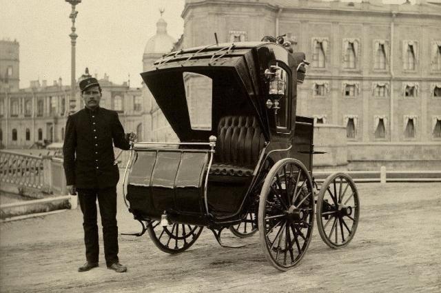 Электромобиль появился в России еще в конце XIX века.