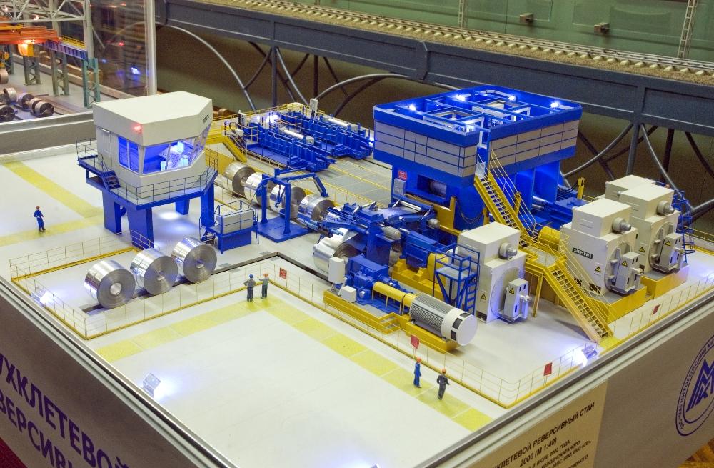 В музее металлургического комбината гостям покажут макеты станков.