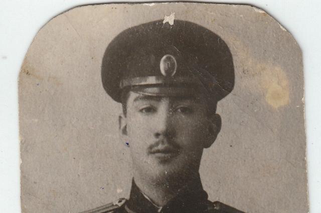 Старший из сыновей Батюшкина - Александр.