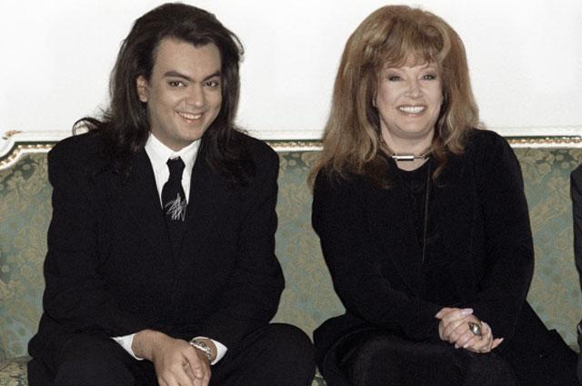 Филипп Киркоров и Алла Пугачева. 1999 год