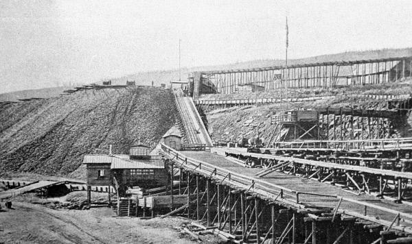 Александровский прииск золотопромышленного акционерного товарищества Лензолото, 1912 год