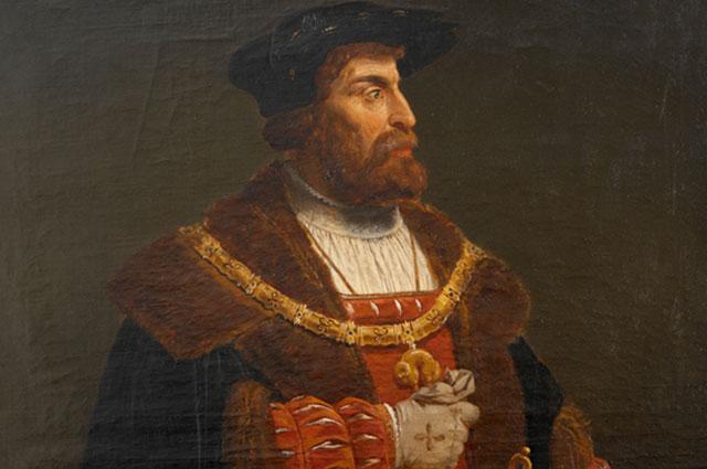 Король Дании Кристиан II.
