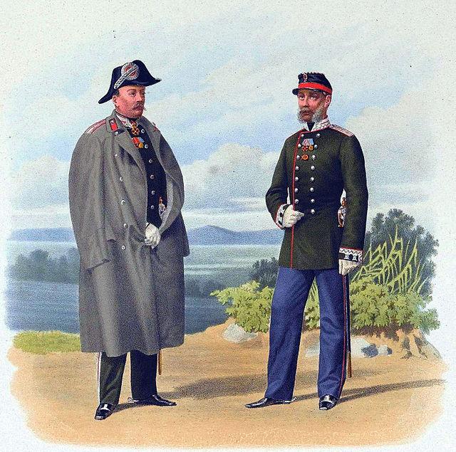 Пиратский К. К. Чиновники Военного министерства 5 и 8 классов. 1863 г