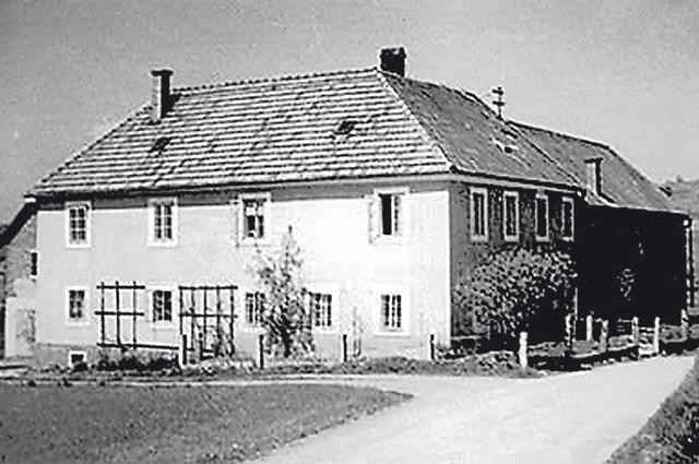 Дом, где прятались наши офицеры