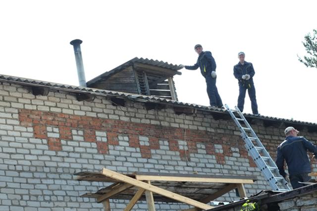 Первый дом отремонтировали в Нижне-Ивкино.
