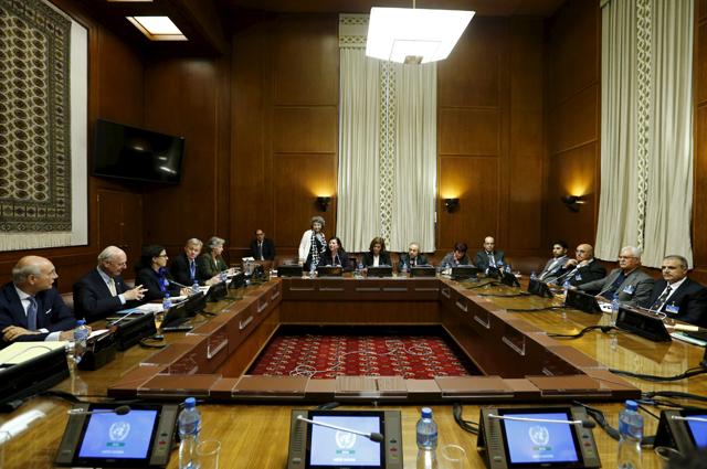 Встреча ООН в Женеве по Сирии.