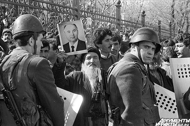 Гражданская война в Таджикистане. 1990 г.