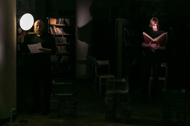 Фрагмент спектакля Борис и Глеб
