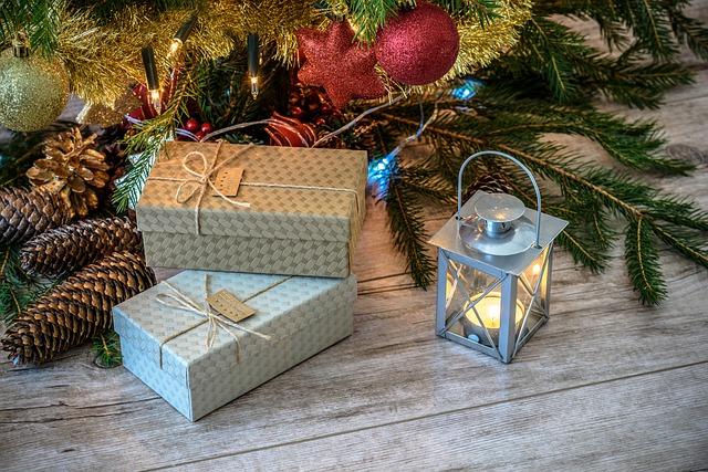 елка, подарки