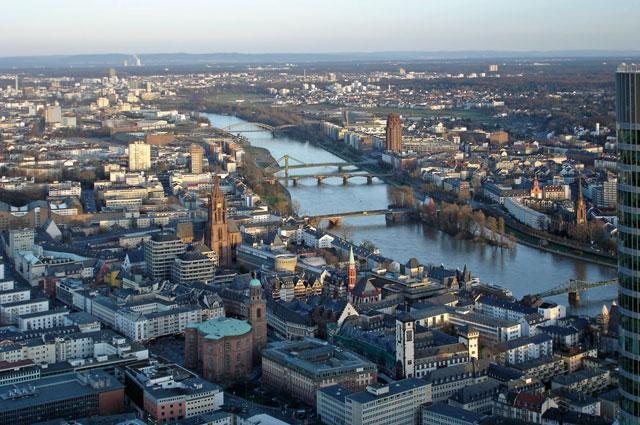 Историческкий центр Франкфурта-на- Майне (Германия).