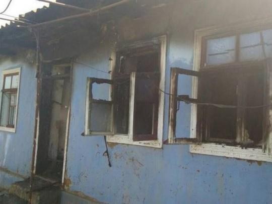 В пожаре под Одессой погибло четверо детей