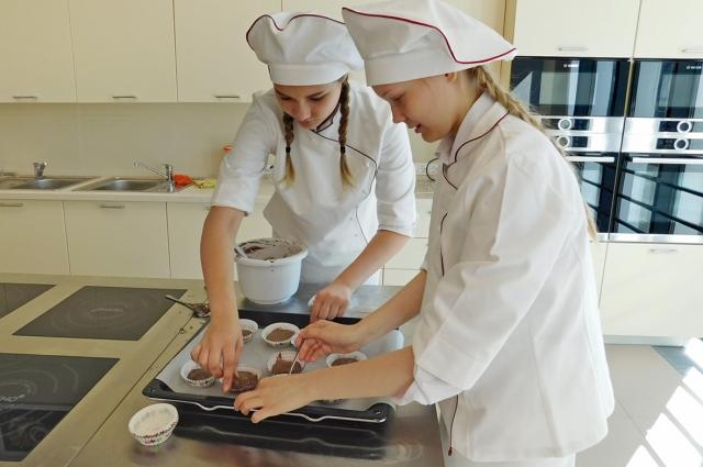 В Пансионе учат отменно готовить.
