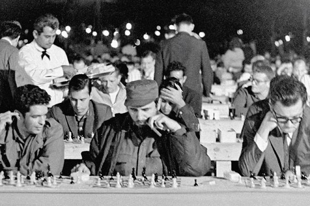 «Кастро  неплохо играл в шахматы».