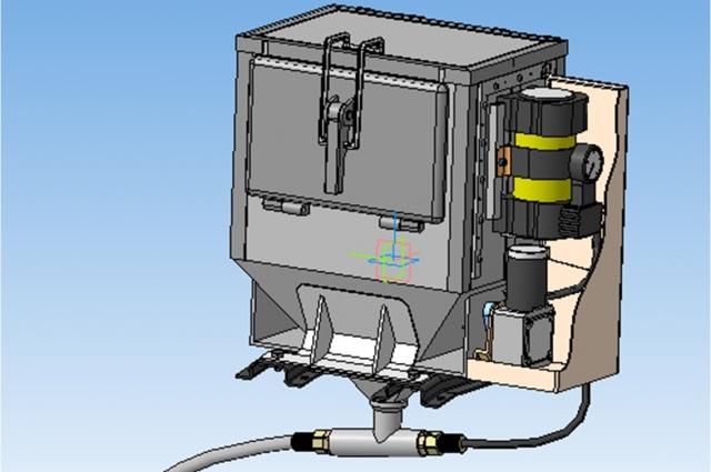 3D-модель установки.