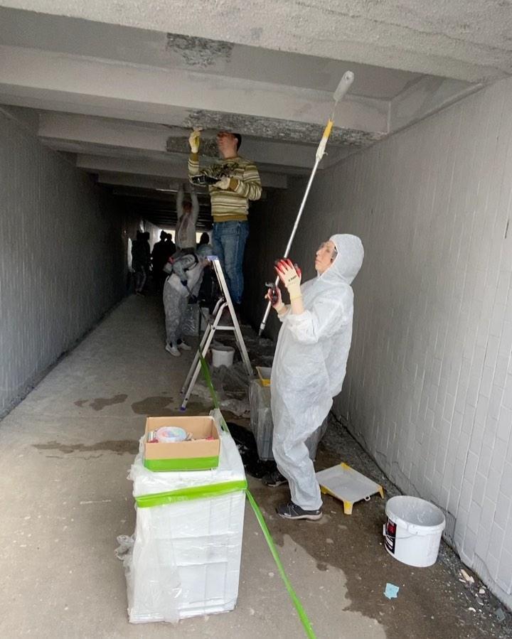 Отремонтированный тоннель в Твери