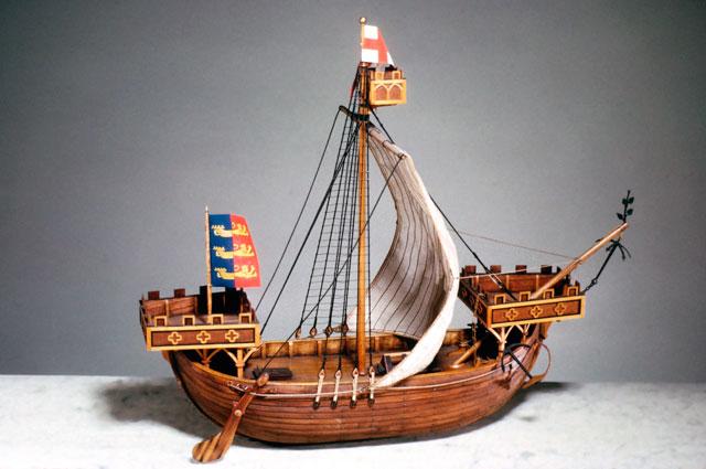 Модель корабля Cinque Ports