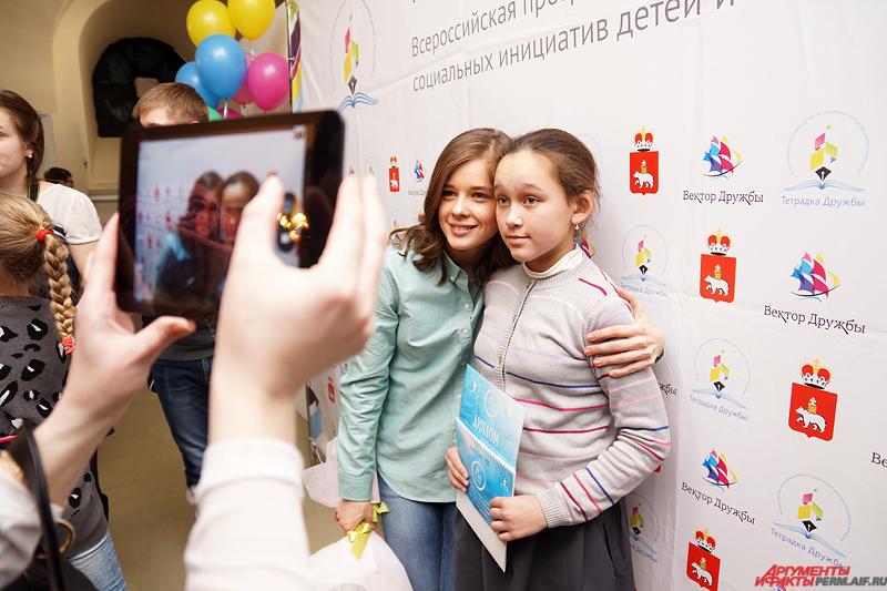 Катерина Шпица является активном участником благотворительных движений.