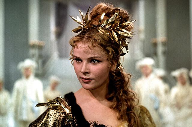 Тамара Семина в фильме «Крепостная актриса», 1963 год