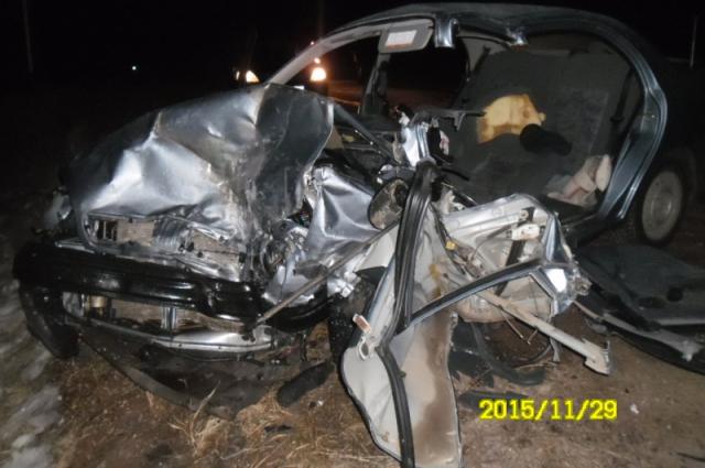 В Новоорском районе в лобовом ДТП погиб водитель.