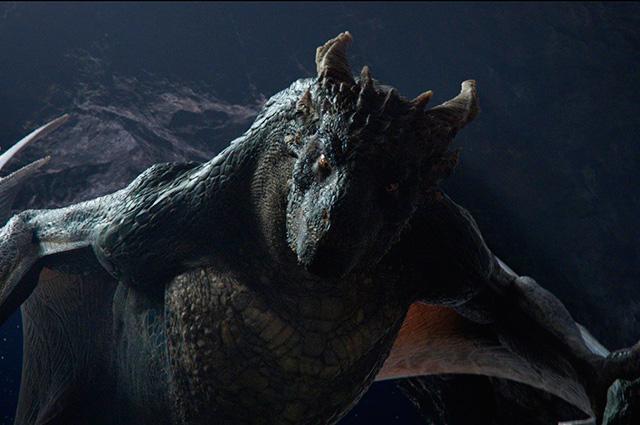 «Он - дракон».