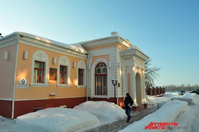 Иртышская набережная, 9. Дом Капитона Батюшкина в 21 веке.