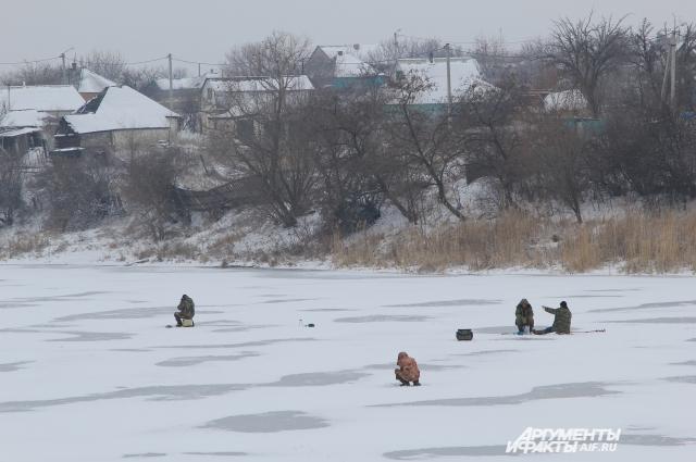 У жителей шахтерских поселков Ростовской области осталась единственная работа — ловить рыбу.
