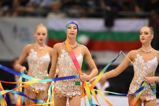 Наши девушки на чемпионате мира-2015 в Штутгарте.