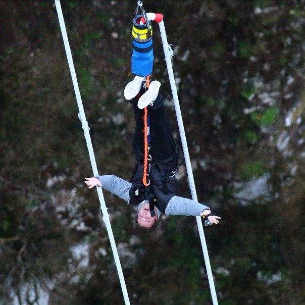 Тимур мечтает повторить прыжок, который осуществил на проекте.