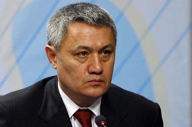 Вице-премьер Рустам Азимов.
