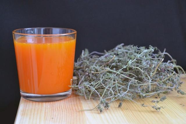 Морсы из облепиховог оваренья - источник витаминов.
